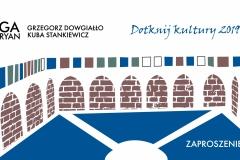 Dotknij Kultury 2019 zaproszenie1_studio nośne Agnieszka Bernas